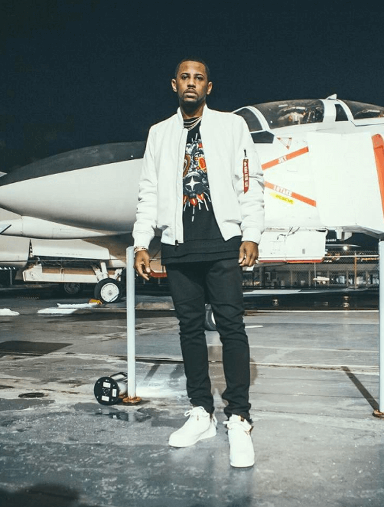 Fabolous in the Nike Air Force 1 Sport Lux