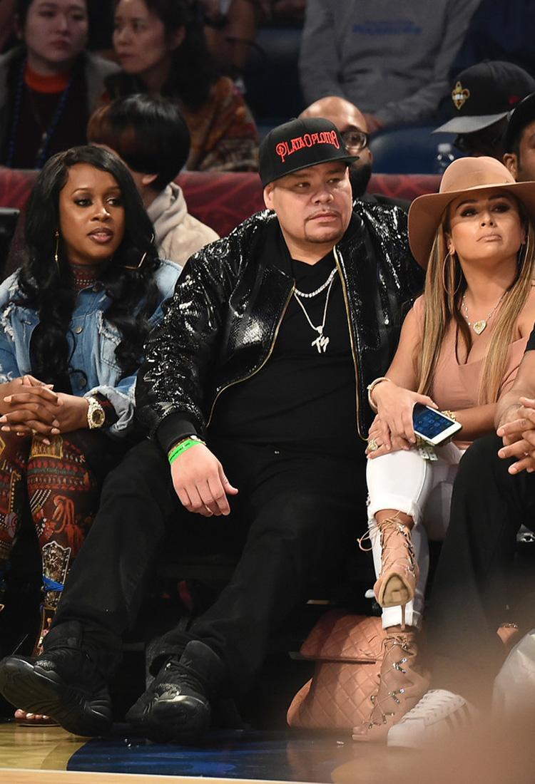 """Fat Joe in the Air Jordan 12 """"OVO"""""""