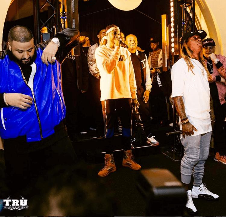 "Lil Wayne in the Air Jordan 12 ""Chinese New Year"""