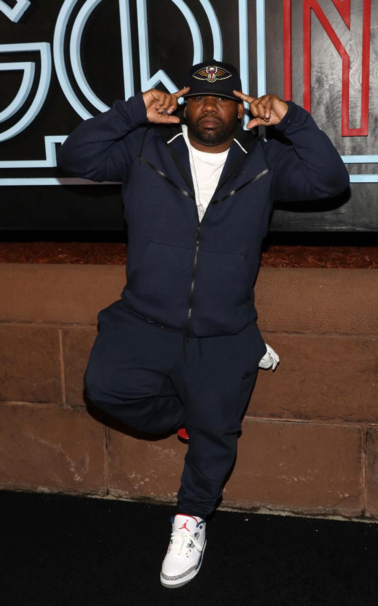 """Raekwon in the Air Jordan 3 """"True Blue"""""""