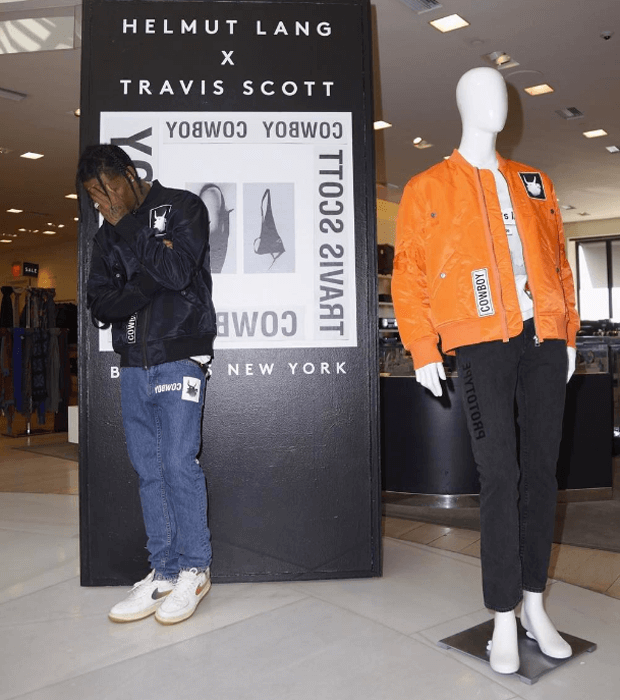 "Travis Scott in the Nike Air Force 1 ""Taiwan"""