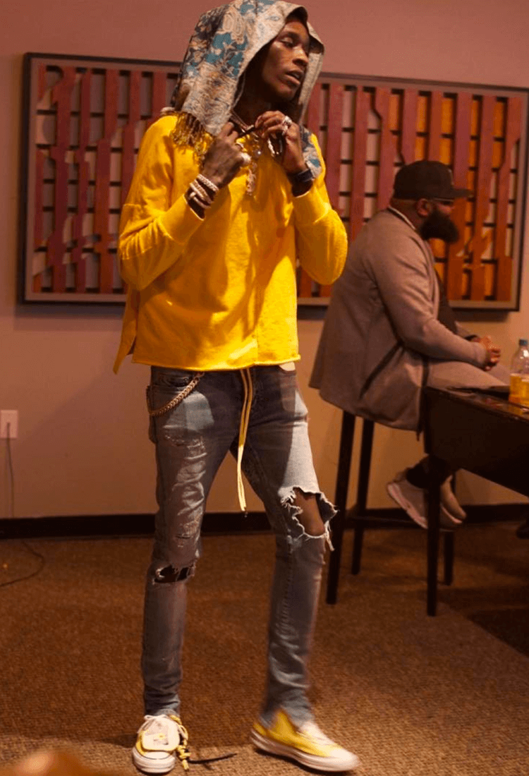 Young Thug in the Converse Chuck Taylor