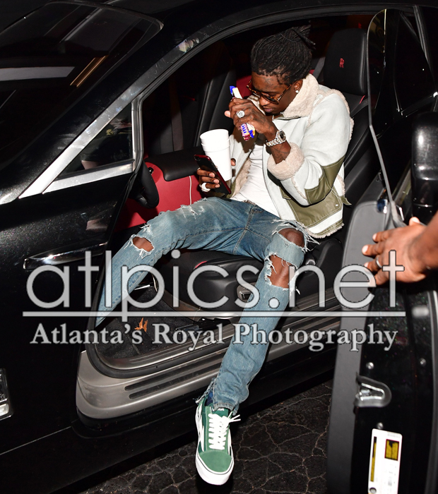 Young Thug in Revenge x Storm sneakers