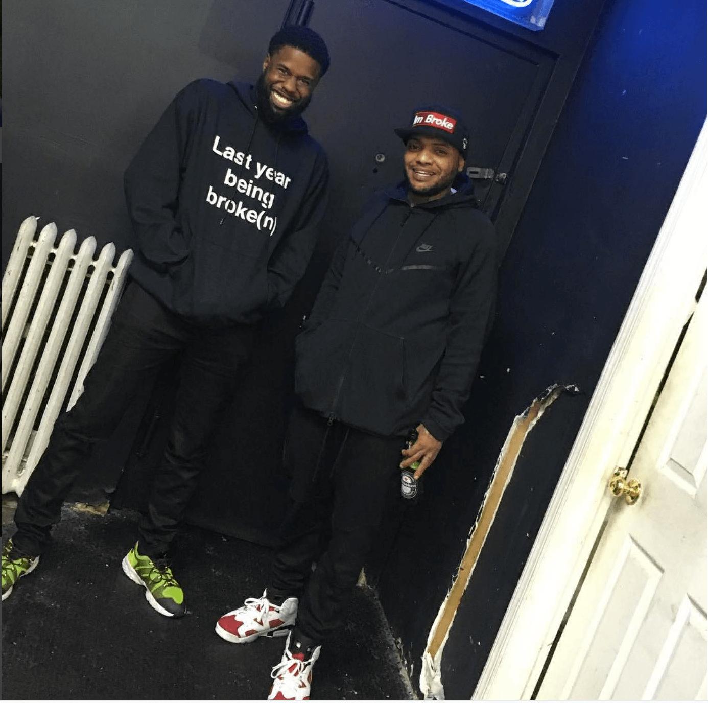 A$AP Twelvyy in the Kim Jones x Nike Air Zoom LWP