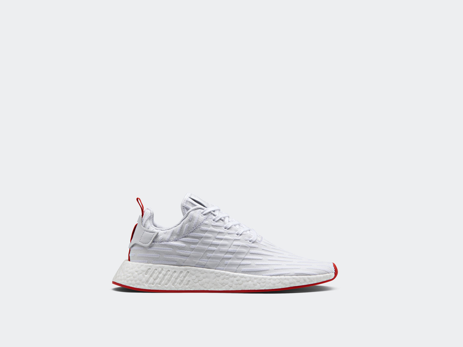 Adidas Nmd R2 White Red Drops Early Next Month Nice Kicks