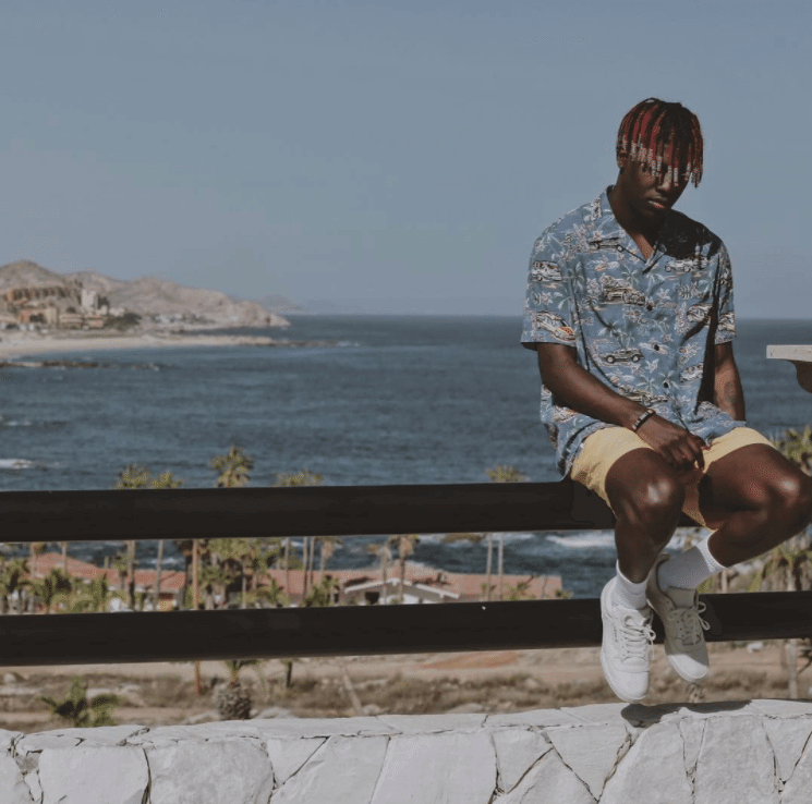 """Lil Yachty in Adidas Powerphase """"Calabasas"""""""