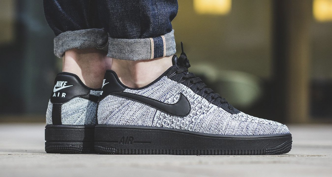 nike air force 1 low ultra flyknit glacier blue available now nice kicks. Black Bedroom Furniture Sets. Home Design Ideas