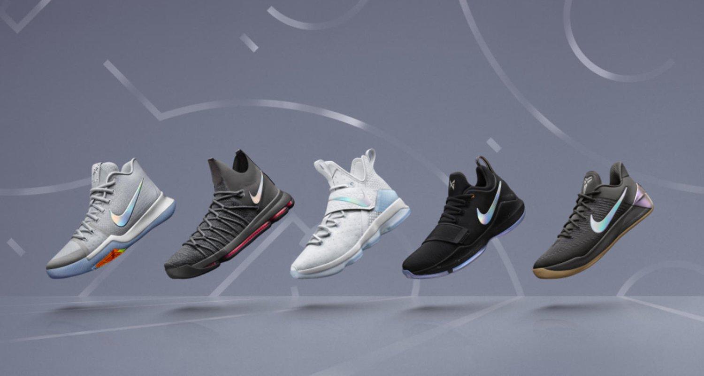 """Nike Basketball """"Time to Shine"""" Collection"""
