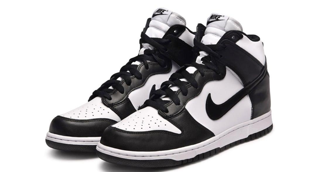 Nike Dunk High White/Black