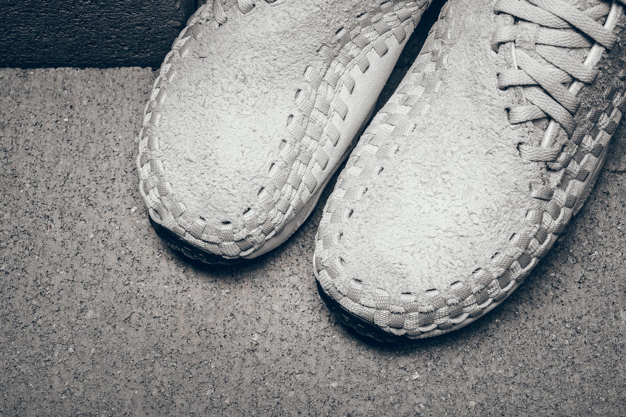 "Nike Air Footscape Woven Chukka ""Light Bone"""