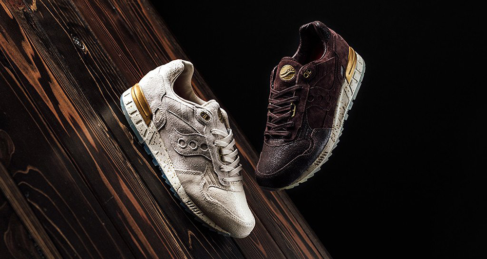"""Saucony Shadow 5000 """"Crackled Leather"""" Collection"""