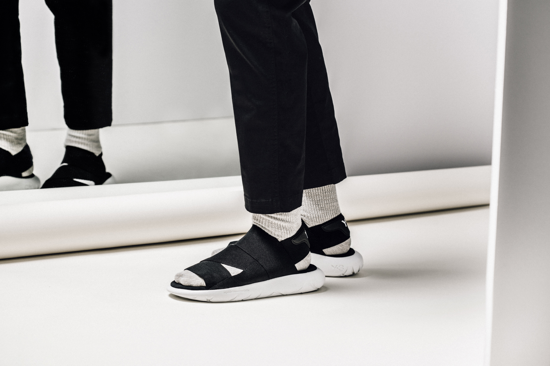 adidas Y-3 Qasa Sandal // Available Now