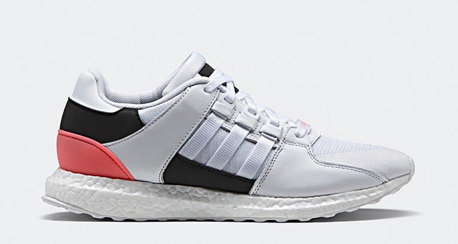 adidas EQT Boost 91/16 White/Turbo Red Drops Next Week | Nice Kicks