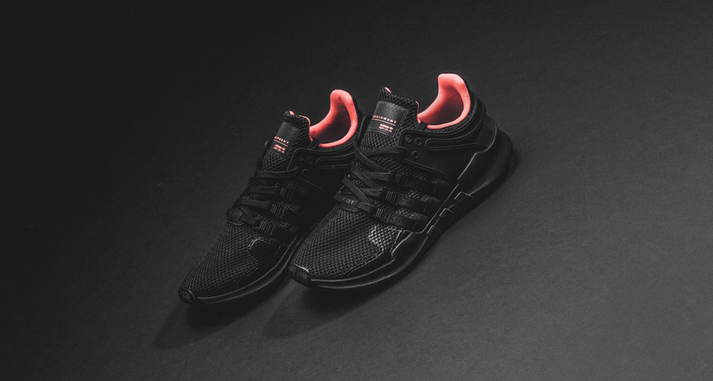 adidas EQT Support ADV Black/Turbo Red