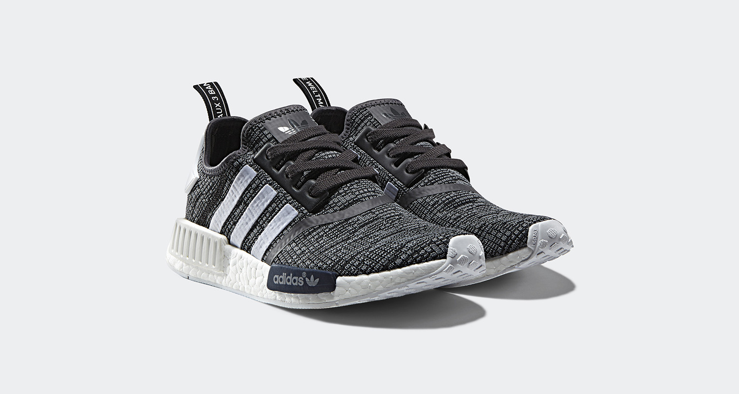 adidas nmd r1 midnight grey drops next month nice kicks. Black Bedroom Furniture Sets. Home Design Ideas