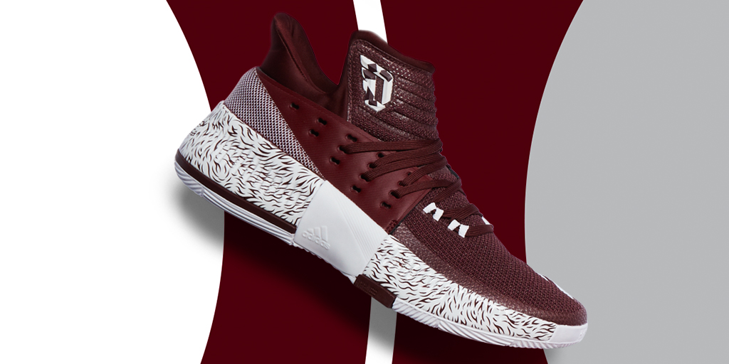 """adidas Dame 3 """"Mississippi State"""""""