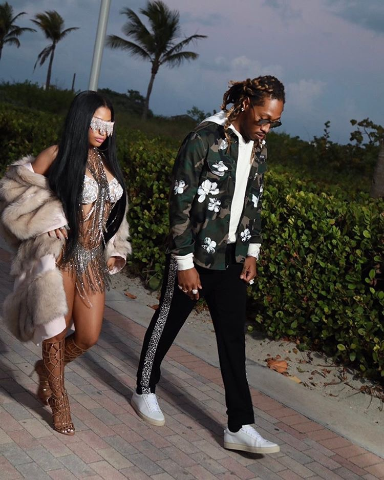 Future in Givenchy sneakers
