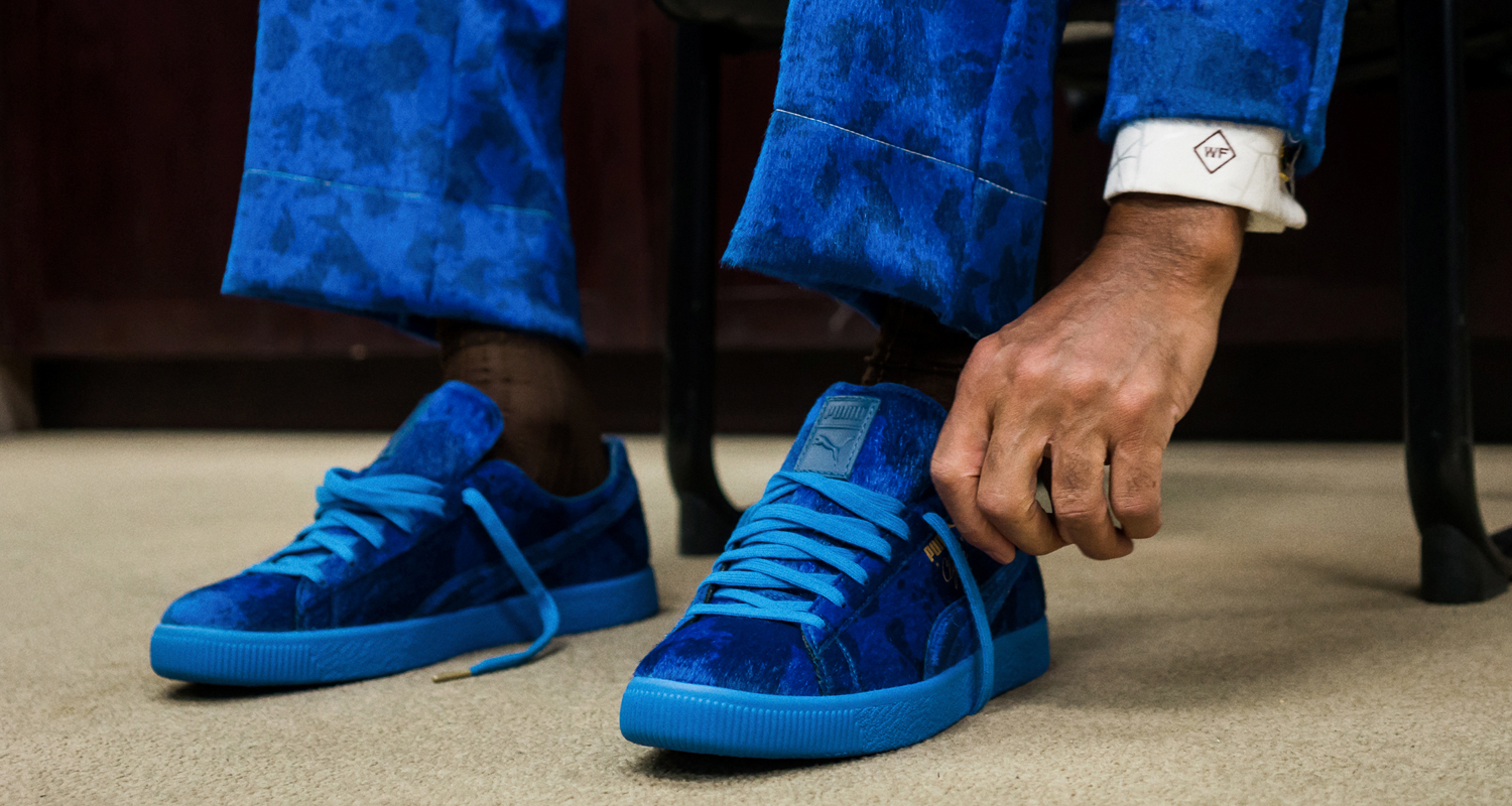 """Packer x Puma Clyde """"Cow Suits"""" Pack"""