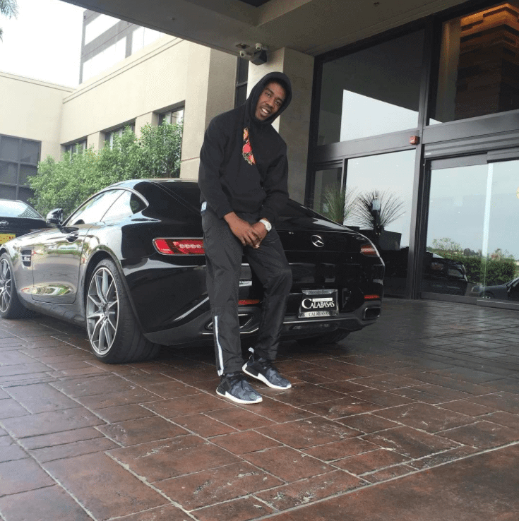 Desiigner in the Adidas NMD XR1