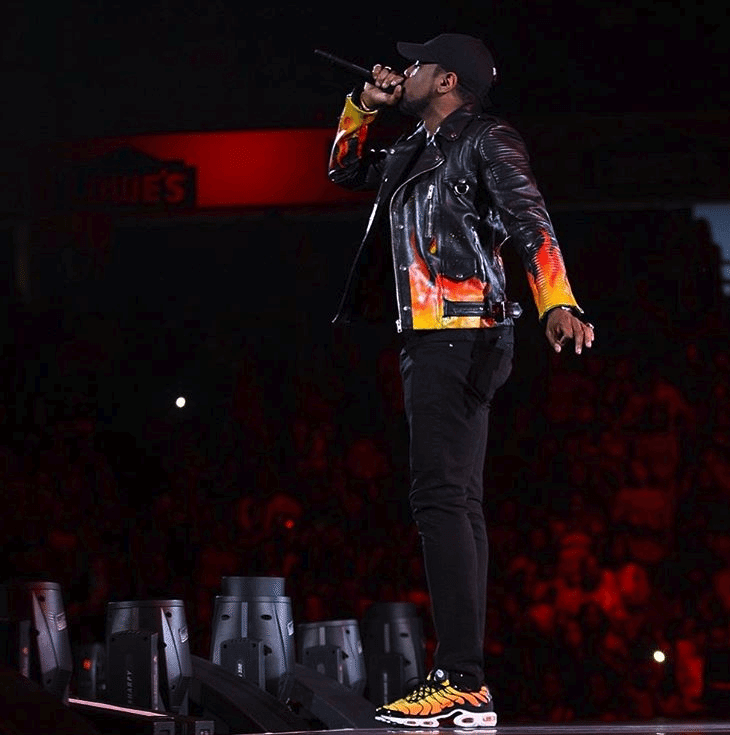 Fabolous in the Nike Air Max Plus