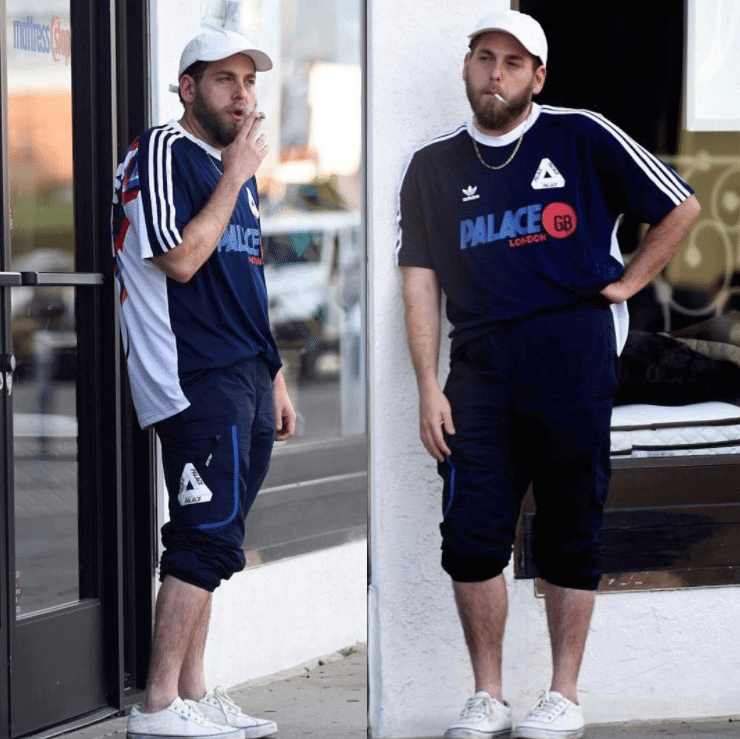 Jonah Hill in the Vans x Fucking Awesome Epoch 94 Pro