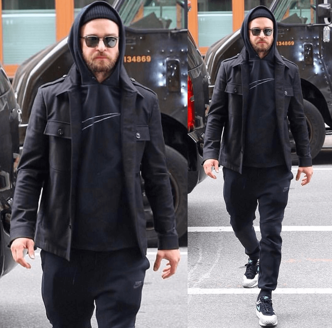 Justin Timberlake in the Atmos x Nike Air Max 1 Retro