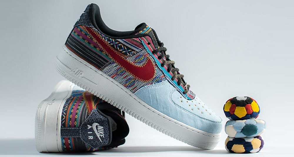 nike reveals new multi pattern air force 1 low nice kicks. Black Bedroom Furniture Sets. Home Design Ideas