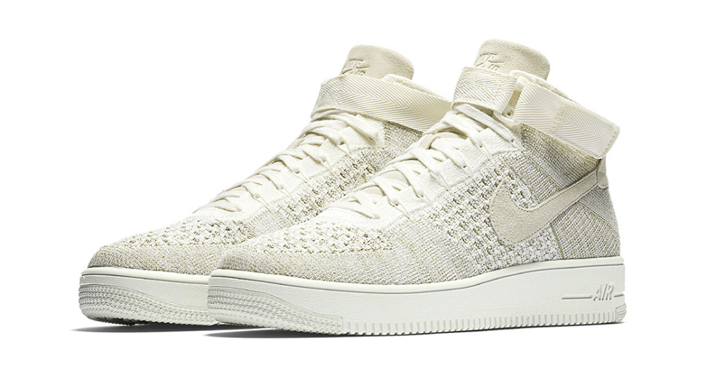 """Nike Air Force 1 Mid Ultra Flyknit """"Sail"""""""