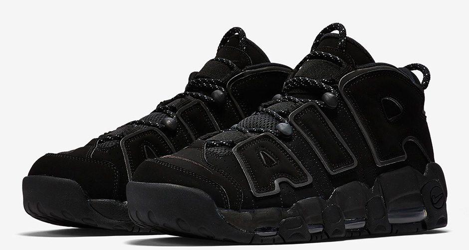 Nike Air More Uptempo Black/Reflective