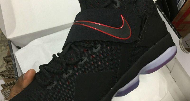 Nike LeBron 14 Black/Red