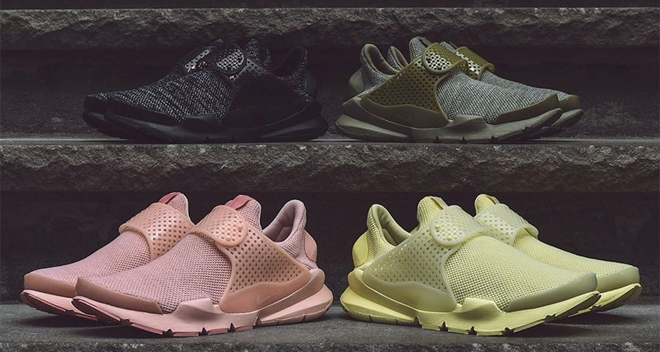 "Nike Sock Dart BR ""Monochrome"" Pack"
