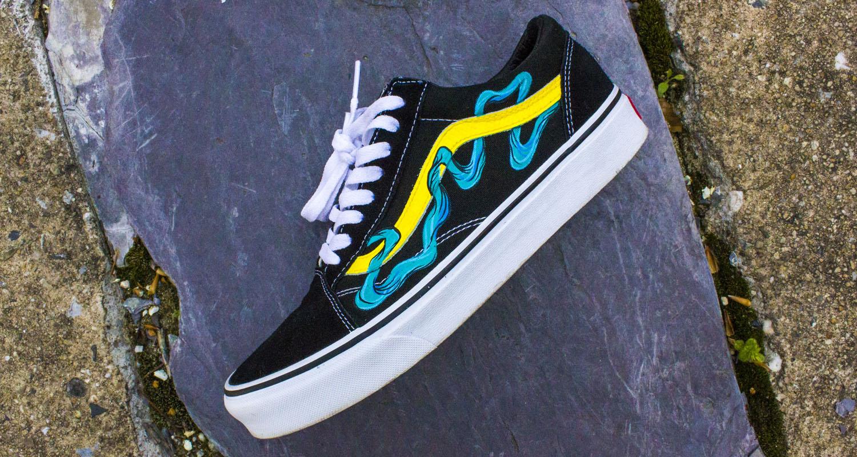Custom Vans Shoes For Sale - kalentri 2018