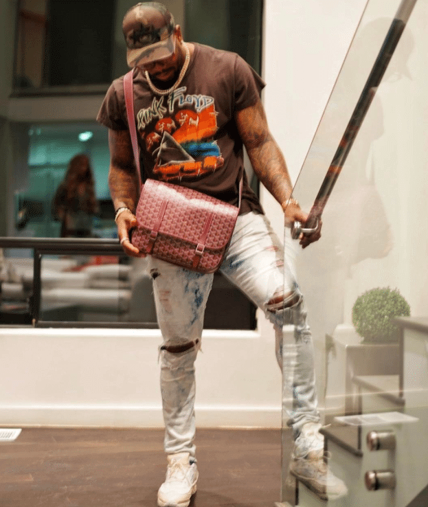 Von Miller in the Adidas Raf Simons Ozweego Bunny Sneakers