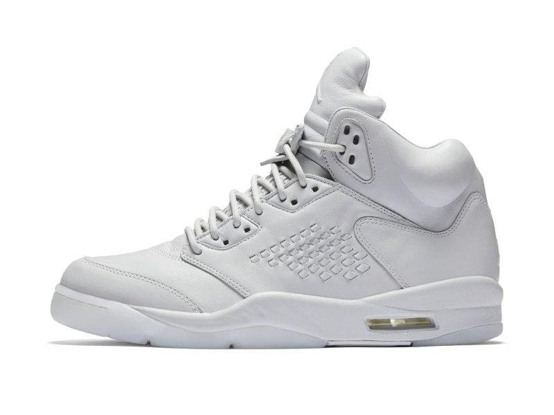 "Air Jordan 5 PRM ""Pure Platinum"""