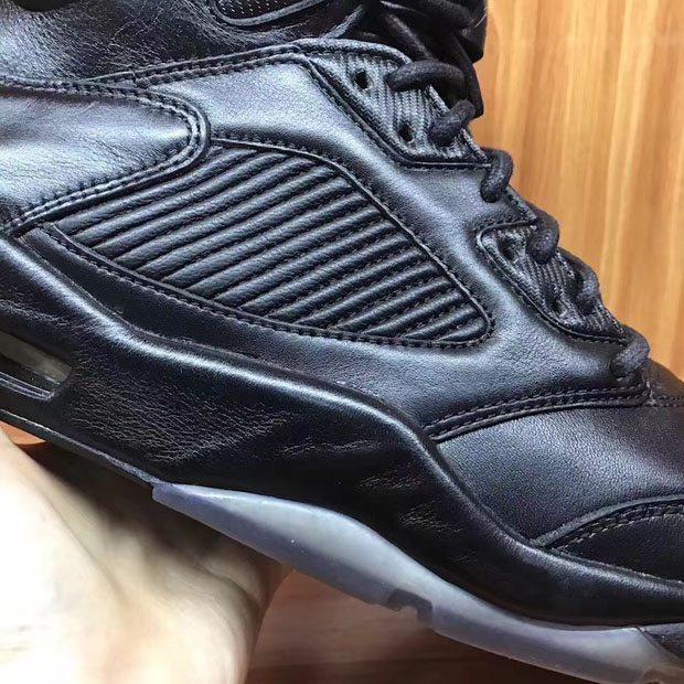 "Air Jordan 5 PRM ""Triple Black"""