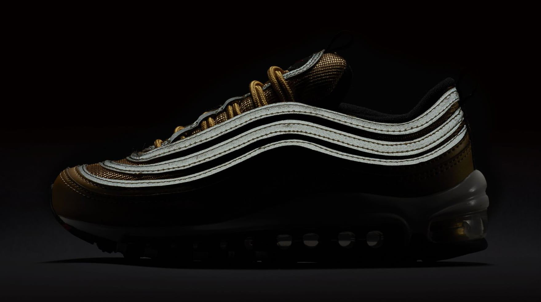 black and gold 97's