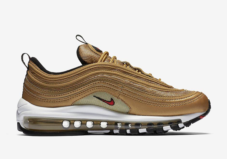 Details about Nike Air Max 97 Cream Metallic Bronze