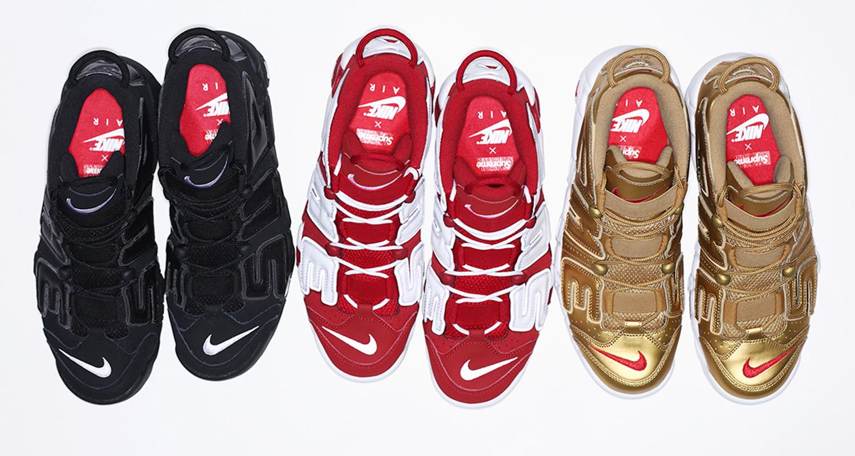 Nike Uptempo 96 Supreme