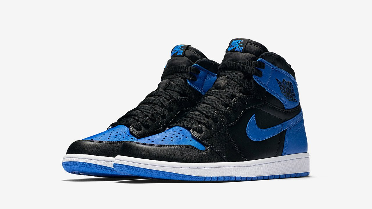Air Jordan 1 Boutique Kicks Royales Belles