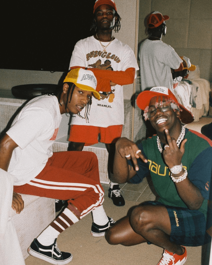 Asap Rocky in the Vans Old School & Lil Yachty in the Revenge Storm Sneakers & Ian Conner in the NikeLab x Off-White Air Force 1 Low