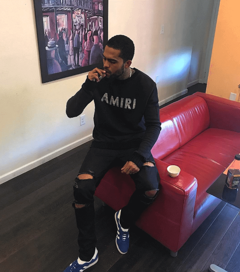 Dave East in the Adidas Originals Gazelle