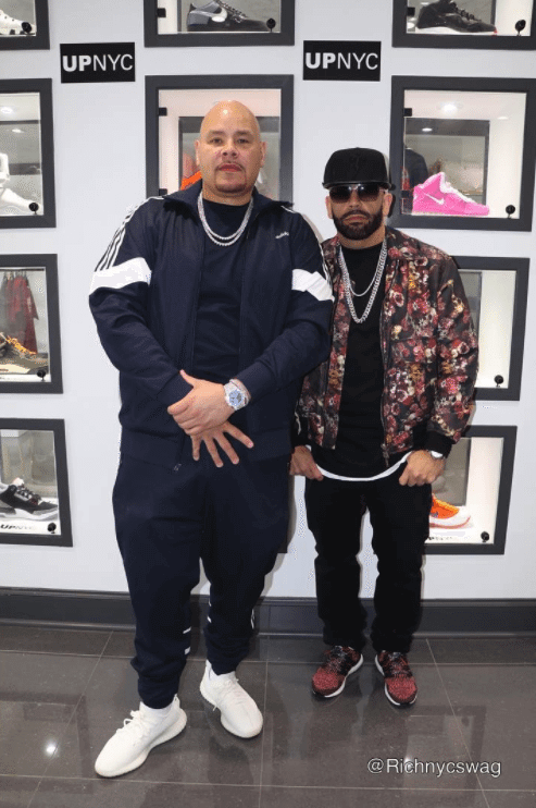 "Fat Joe in the Adidas Yeezy Boost 350 V2 ""Cream White"" & Mayor in the Adidas Ultra Boost 3.0 ""CNY"""