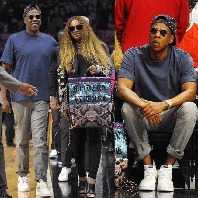 Jay Z in the Nike Air Force 1 Low
