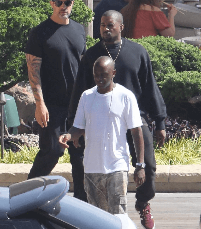 Kanye West in the Adidas Originals Samba