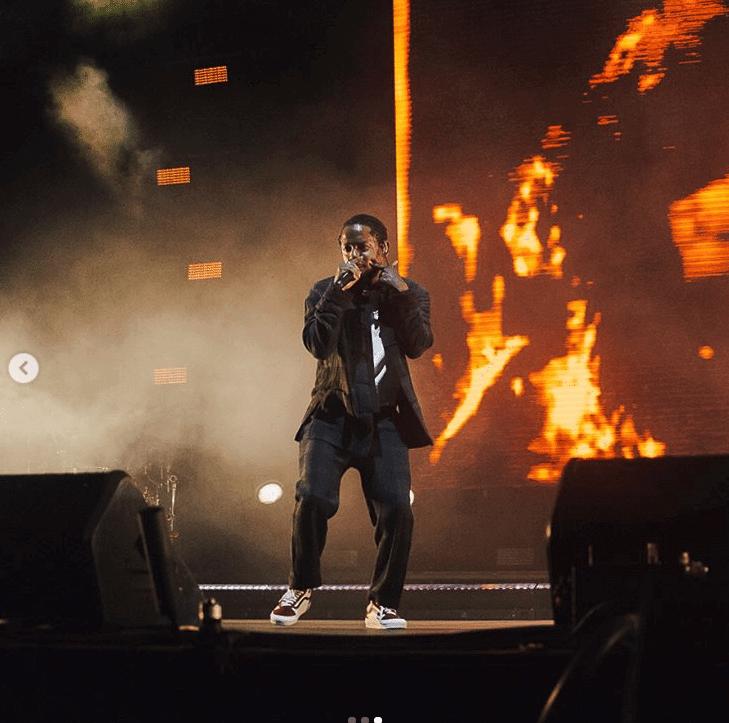 Kendrick Lamar in the Vans Old School Sneakers