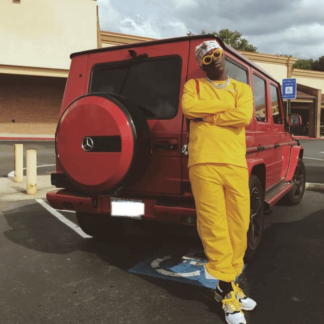 Lil Yachty in the New Balance Sneakers