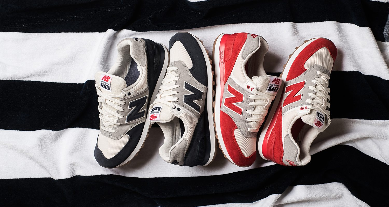 """New Balance 574 """"Terry Cloth"""" Pack"""