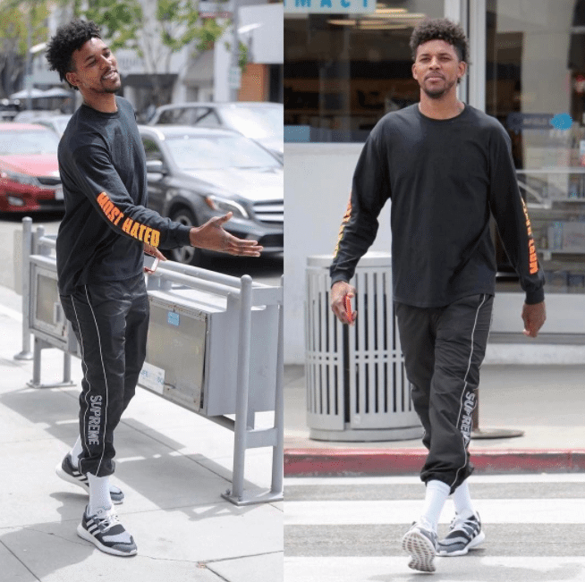 Nick Young in the Adidas Y3 Pure Boost ZG Knit