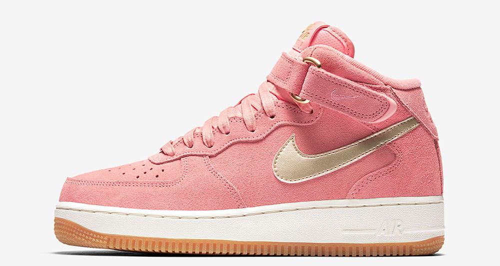 "Nike WMNS Air Force 1 Mid ""Bright Melon"""