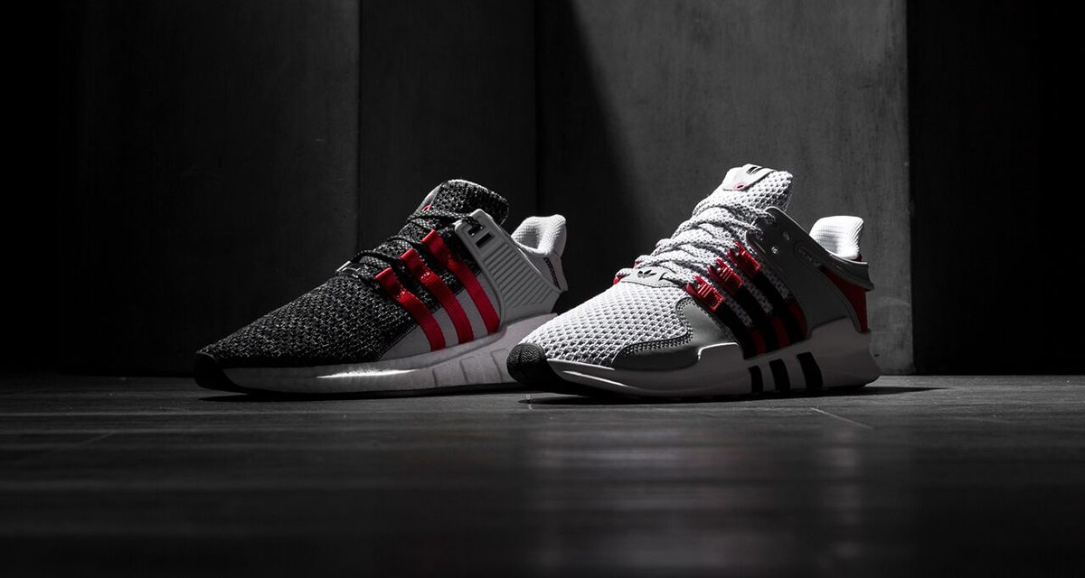 adidas EQT Support RF Core Black/ Core Black/ Turbo Footshop